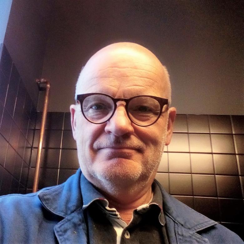 Sjuksköterskan Jonny Harborg jobbar med smittspårning i Skåne.